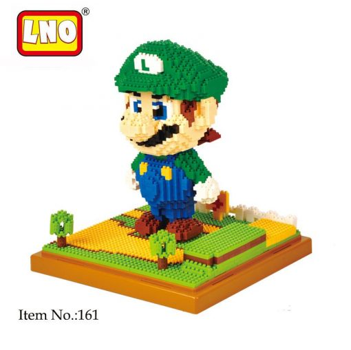 Wise hawk nanoblocks mario luigi